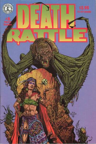 Death Rattle #5 Comic Books - Covers, Scans, Photos  in Death Rattle Comic Books - Covers, Scans, Gallery