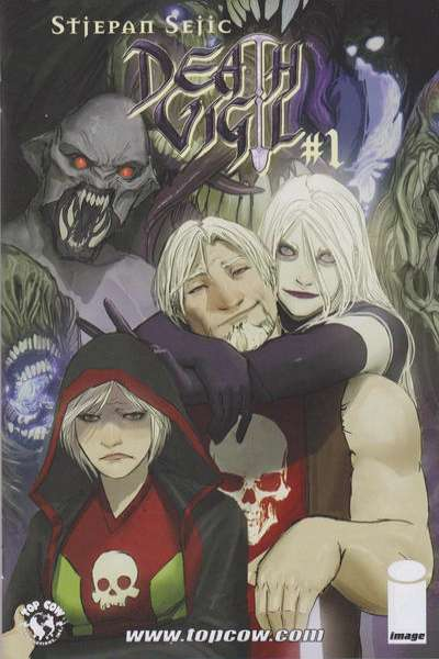 Death Vigil Comic Books. Death Vigil Comics.