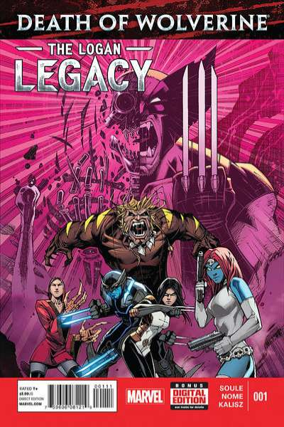 Death of Wolverine: The Logan Legacy Comic Books. Death of Wolverine: The Logan Legacy Comics.