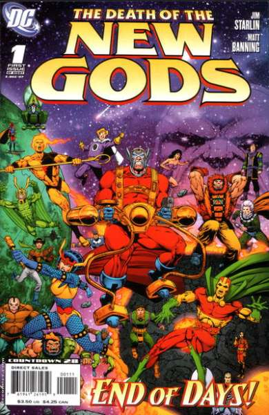 Death of the New Gods Comic Books. Death of the New Gods Comics.