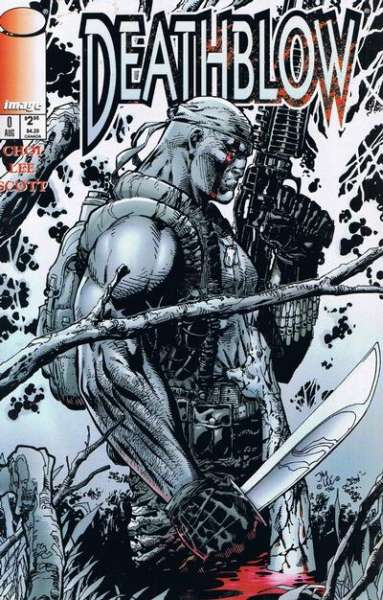 Deathblow #0 comic books - cover scans photos Deathblow #0 comic books - covers, picture gallery