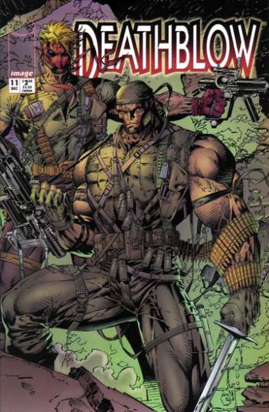Deathblow #11 cheap bargain discounted comic books Deathblow #11 comic books