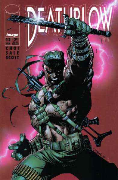 Deathblow #12 cheap bargain discounted comic books Deathblow #12 comic books