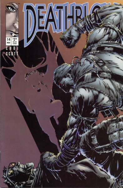 Deathblow #14 comic books - cover scans photos Deathblow #14 comic books - covers, picture gallery