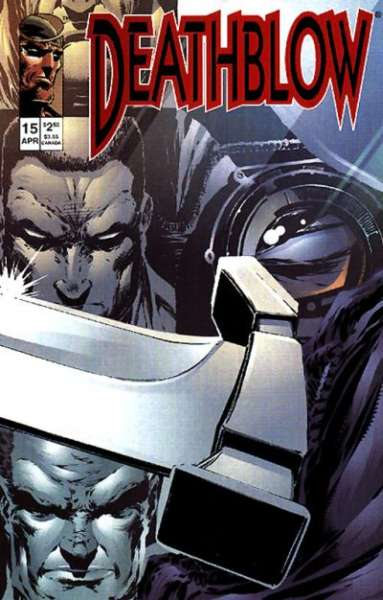 Deathblow #15 comic books - cover scans photos Deathblow #15 comic books - covers, picture gallery