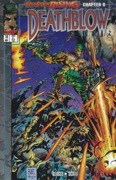Deathblow #16 comic books - cover scans photos Deathblow #16 comic books - covers, picture gallery