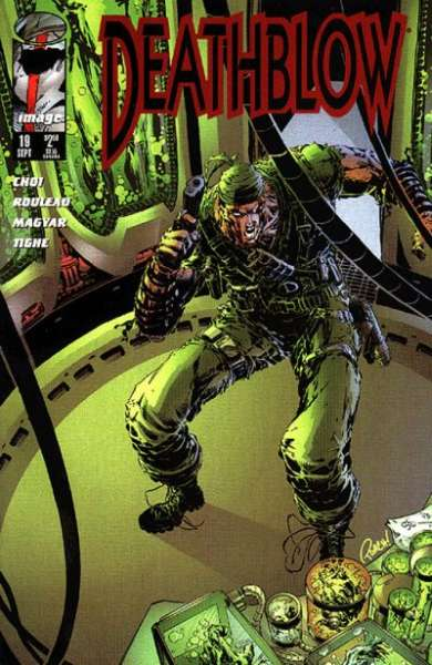 Deathblow #19 comic books - cover scans photos Deathblow #19 comic books - covers, picture gallery