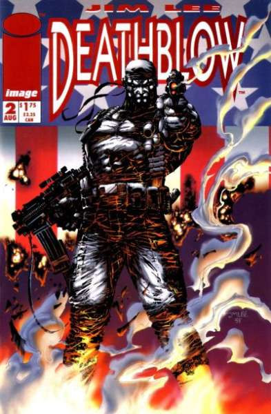 Deathblow #2 comic books - cover scans photos Deathblow #2 comic books - covers, picture gallery