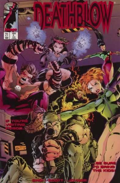 Deathblow #21 Comic Books - Covers, Scans, Photos  in Deathblow Comic Books - Covers, Scans, Gallery