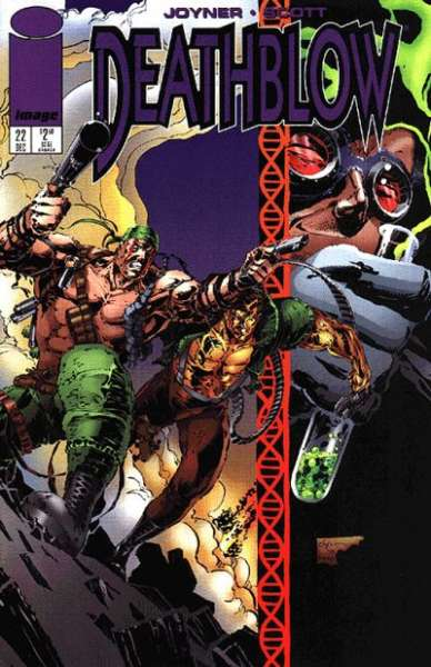 Deathblow #22 Comic Books - Covers, Scans, Photos  in Deathblow Comic Books - Covers, Scans, Gallery