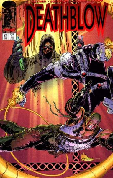 Deathblow #23 comic books - cover scans photos Deathblow #23 comic books - covers, picture gallery