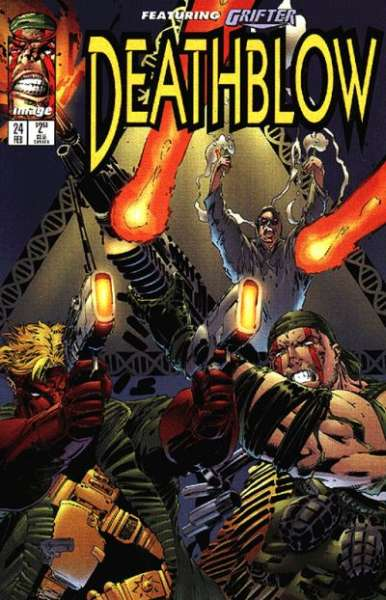 Deathblow #24 comic books - cover scans photos Deathblow #24 comic books - covers, picture gallery