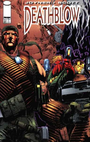 Deathblow #25 comic books - cover scans photos Deathblow #25 comic books - covers, picture gallery