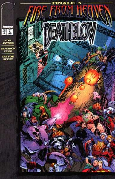 Deathblow #28 comic books - cover scans photos Deathblow #28 comic books - covers, picture gallery