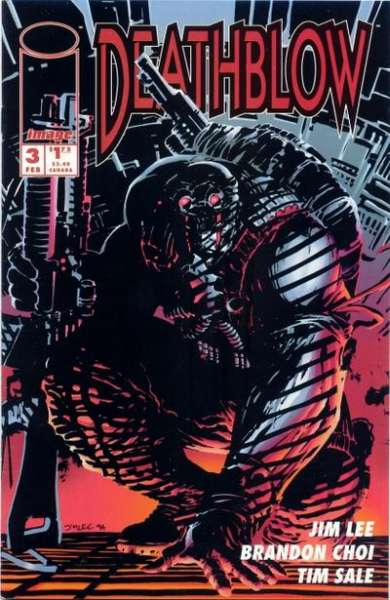 Deathblow #3 comic books - cover scans photos Deathblow #3 comic books - covers, picture gallery