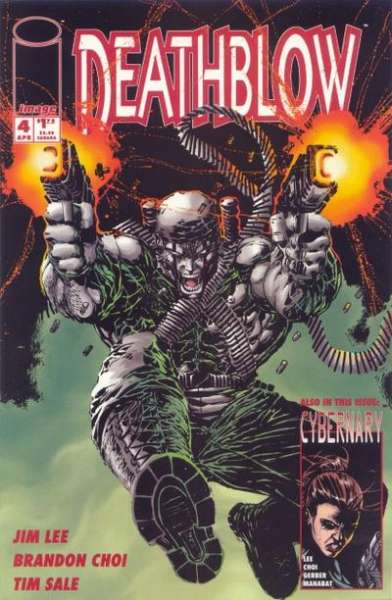 Deathblow #4 comic books - cover scans photos Deathblow #4 comic books - covers, picture gallery