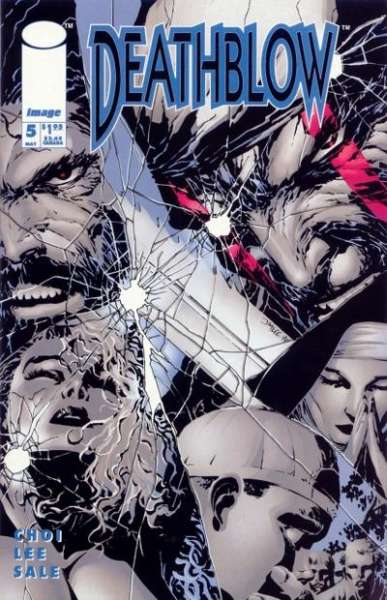 Deathblow #5 comic books - cover scans photos Deathblow #5 comic books - covers, picture gallery