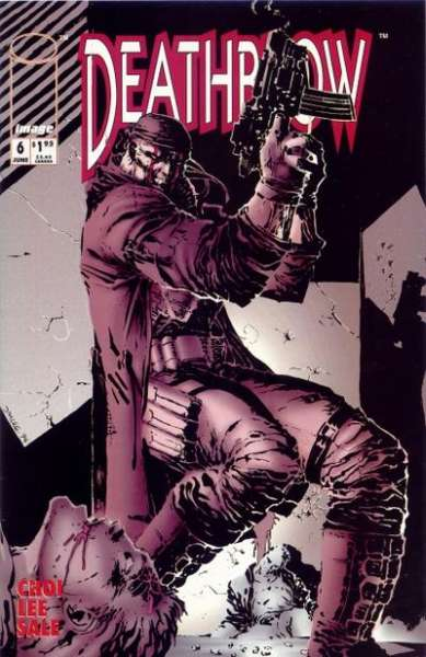 Deathblow #6 comic books - cover scans photos Deathblow #6 comic books - covers, picture gallery