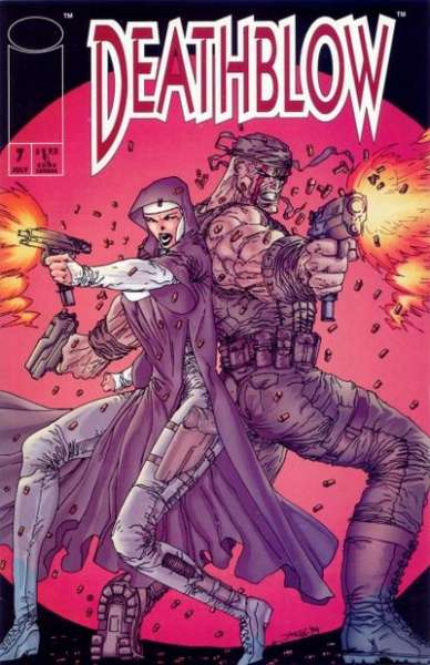 Deathblow #7 cheap bargain discounted comic books Deathblow #7 comic books