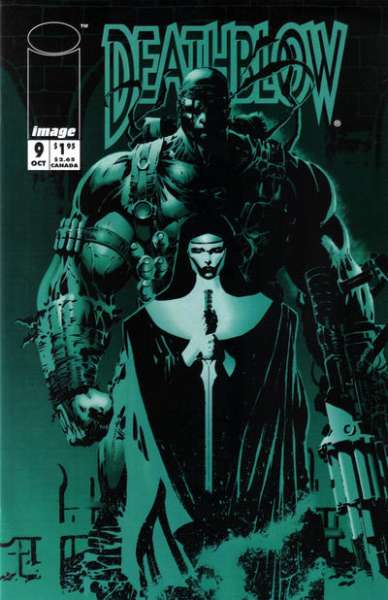 Deathblow #9 comic books - cover scans photos Deathblow #9 comic books - covers, picture gallery