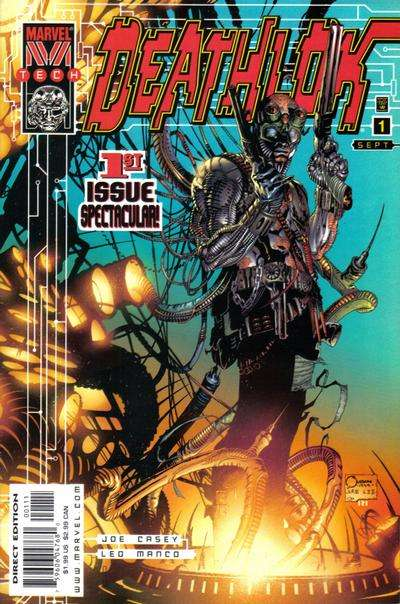 Deathlok Comic Books. Deathlok Comics.