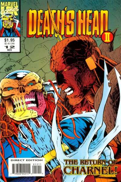 Death's Head II #12 comic books for sale