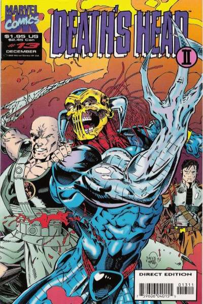 Death's Head II #13 comic books for sale