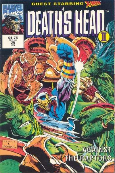 Death's Head II #3 comic books for sale
