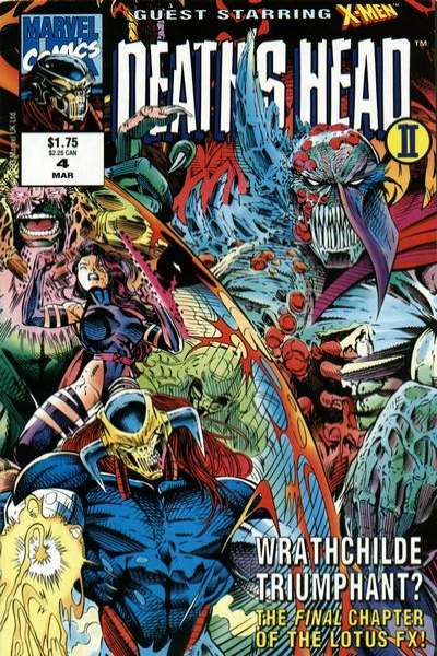 Death's Head II #4 comic books for sale