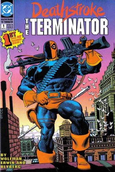 Deathstroke: The Terminator comic books