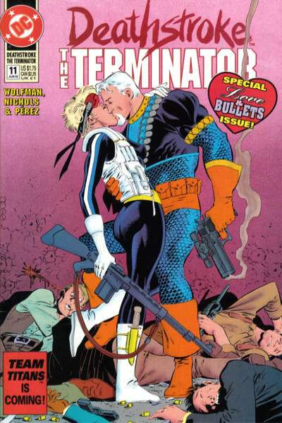 Deathstroke: The Terminator #11 comic books for sale