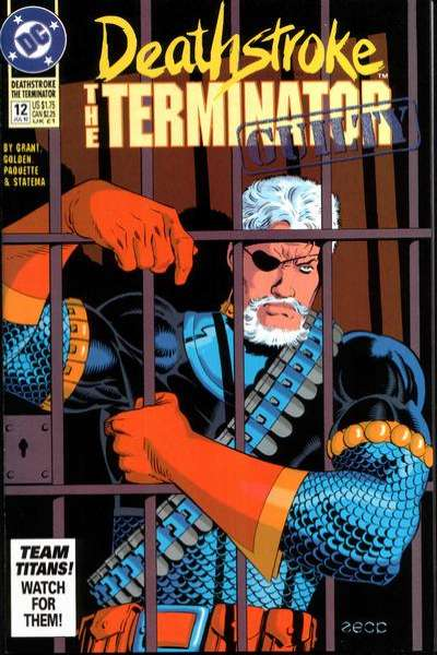 Deathstroke: The Terminator #12 Comic Books - Covers, Scans, Photos  in Deathstroke: The Terminator Comic Books - Covers, Scans, Gallery