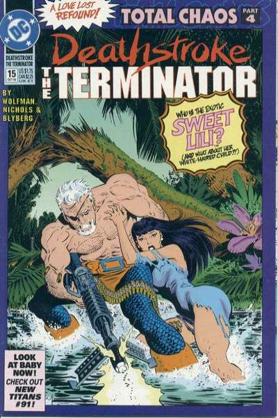 Deathstroke: The Terminator #15 comic books for sale
