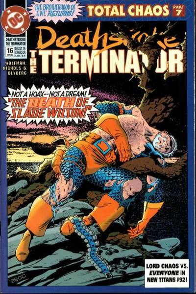 Deathstroke: The Terminator #16 Comic Books - Covers, Scans, Photos  in Deathstroke: The Terminator Comic Books - Covers, Scans, Gallery