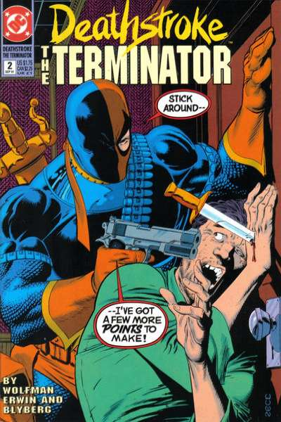 Deathstroke: The Terminator #2 Comic Books - Covers, Scans, Photos  in Deathstroke: The Terminator Comic Books - Covers, Scans, Gallery