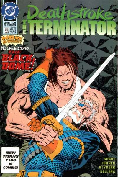Deathstroke: The Terminator #25 Comic Books - Covers, Scans, Photos  in Deathstroke: The Terminator Comic Books - Covers, Scans, Gallery