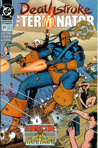 Deathstroke: The Terminator #29 comic books for sale