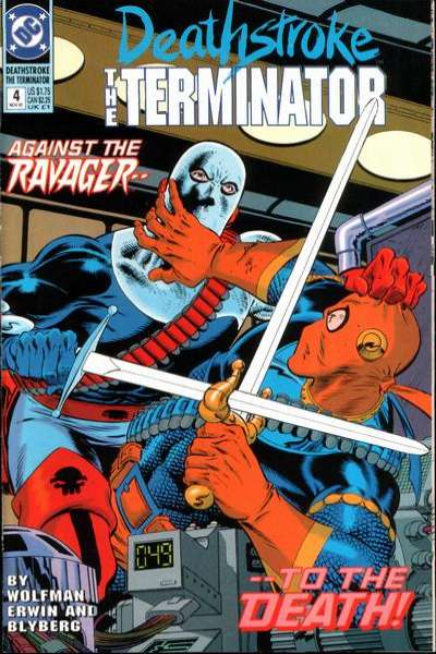 Deathstroke: The Terminator #4 comic books for sale