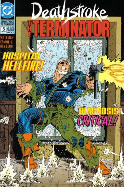 Deathstroke: The Terminator #5 Comic Books - Covers, Scans, Photos  in Deathstroke: The Terminator Comic Books - Covers, Scans, Gallery