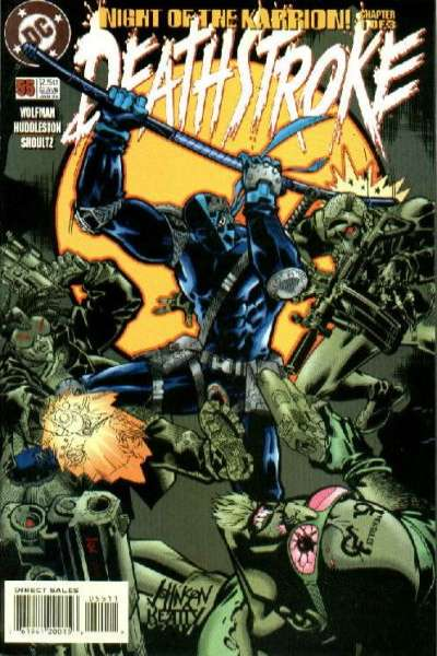 Deathstroke: The Terminator #55 comic books for sale