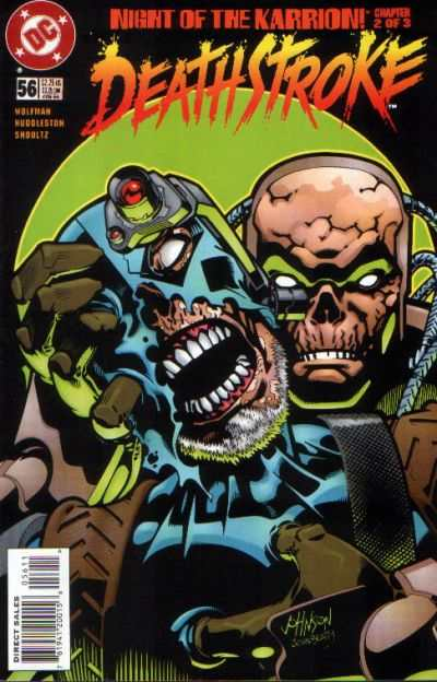 Deathstroke: The Terminator #56 comic books for sale
