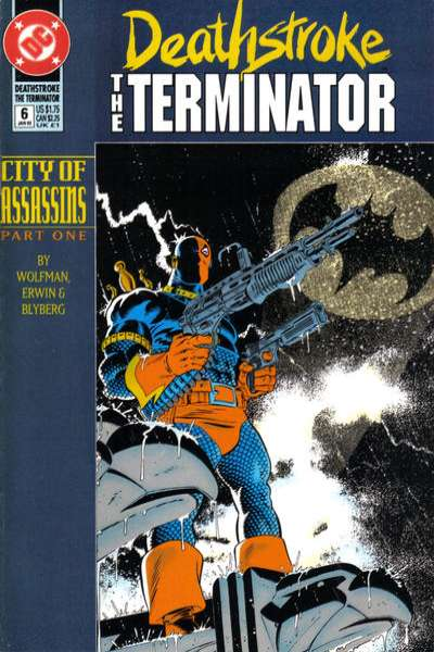 Deathstroke: The Terminator #6 Comic Books - Covers, Scans, Photos  in Deathstroke: The Terminator Comic Books - Covers, Scans, Gallery