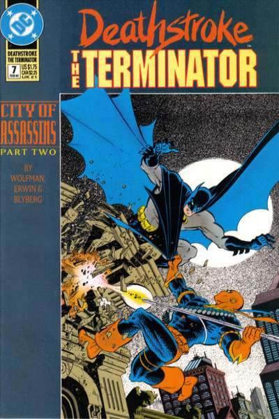 Deathstroke: The Terminator #7 Comic Books - Covers, Scans, Photos  in Deathstroke: The Terminator Comic Books - Covers, Scans, Gallery