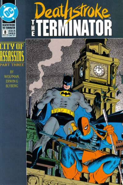 Deathstroke: The Terminator #8 Comic Books - Covers, Scans, Photos  in Deathstroke: The Terminator Comic Books - Covers, Scans, Gallery