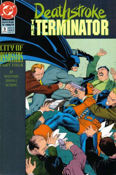 Deathstroke: The Terminator #9 Comic Books - Covers, Scans, Photos  in Deathstroke: The Terminator Comic Books - Covers, Scans, Gallery