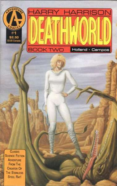 Deathworld: Book 2 #1 comic books - cover scans photos Deathworld: Book 2 #1 comic books - covers, picture gallery