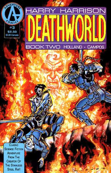 Deathworld: Book 2 #3 Comic Books - Covers, Scans, Photos  in Deathworld: Book 2 Comic Books - Covers, Scans, Gallery