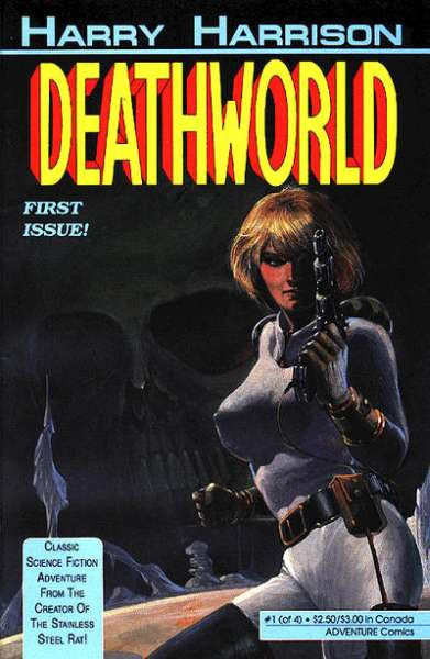 Deathworld #1 comic books - cover scans photos Deathworld #1 comic books - covers, picture gallery