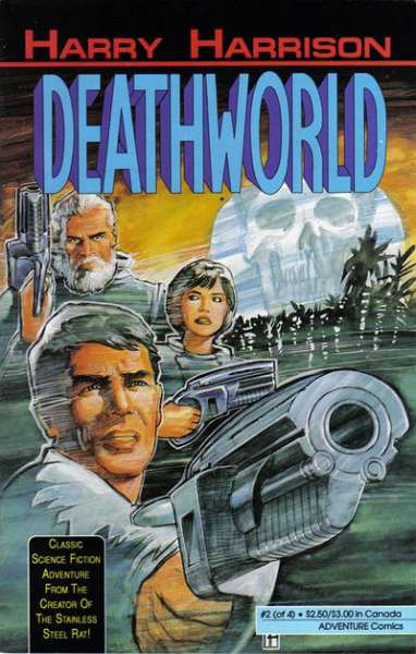 Deathworld #2 comic books - cover scans photos Deathworld #2 comic books - covers, picture gallery