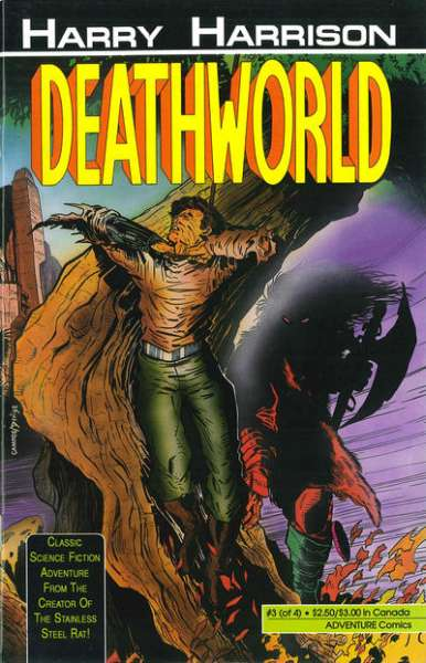 Deathworld #3 comic books - cover scans photos Deathworld #3 comic books - covers, picture gallery